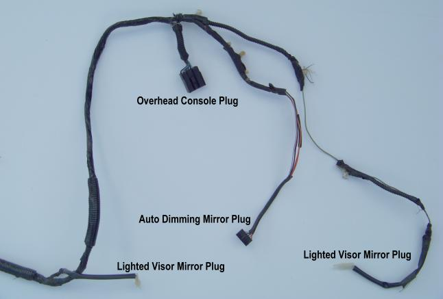 Ford Explorer Overhead Console Wiring - Data Wiring Diagram on