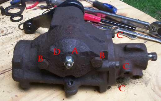Ford Ranger Steering Box : Ford steering gear box rebuild question pirate