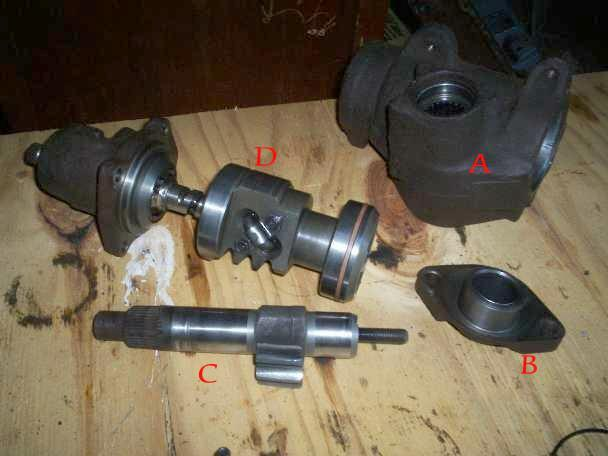 Ford Ranger Steering Box : Ford ranger ttb build page pirate and