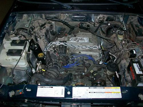 V In on 1995 Ford Ranger Engine Size