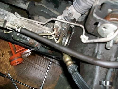 Power Steering Hose on 1995 Ford Ranger Engine Diagram