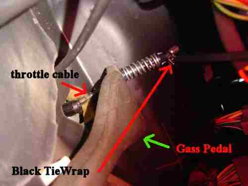 How to: Throttle Cable mod [Archive] - Ford Ranger Forum