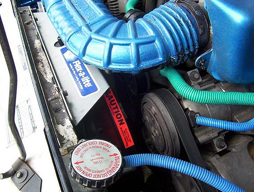 Ford Ranger Bronco Ii Electric Fan Installation