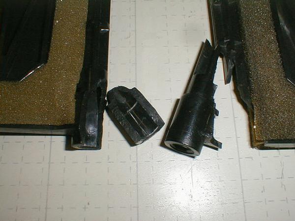 Heater Blend Door Repair On The 1993-1997 Ford Ranger