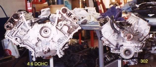 ford 4.6 sohc timing marks