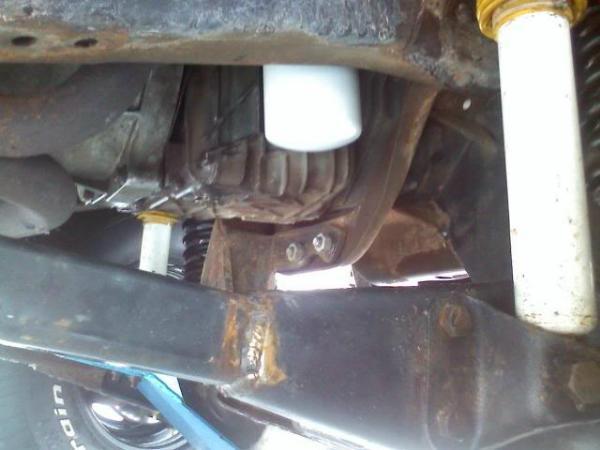 Ford Ranger Oil Filter Upgrade