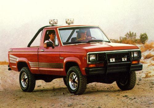 Ford Ranger 'High Rider' STX