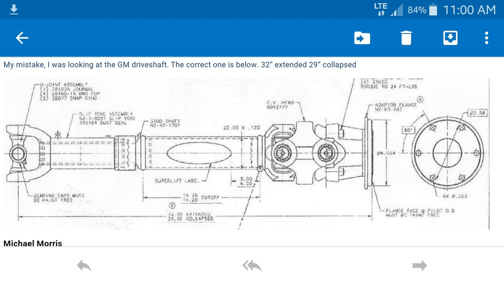 Trs Magazine Building Your Own Front Driveshaft For A 1998 Ford