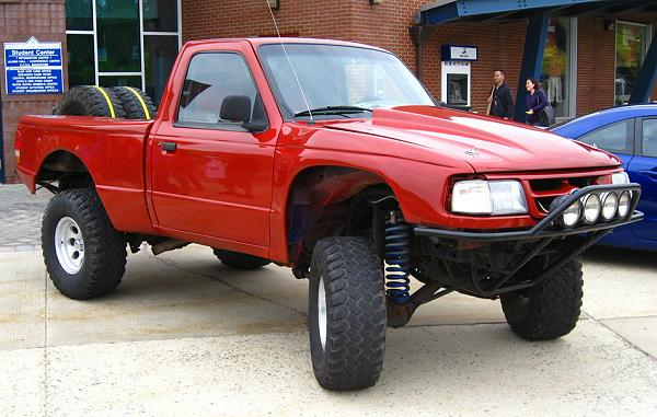 'Not All There') and Dave Perry's (AKA 'The Dave') 1994 Ford Ranger.