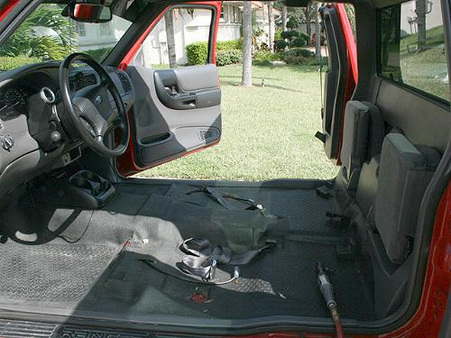 new carpet installation in a 2002 ford ranger. Black Bedroom Furniture Sets. Home Design Ideas