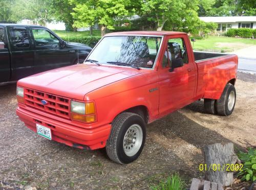 The Ford Ranger Dually