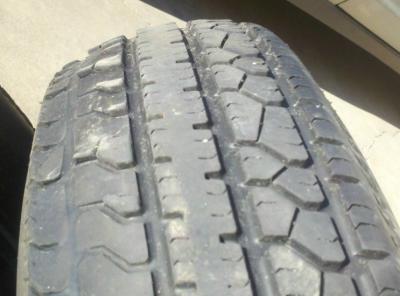 Tire Tread Wear >> Trailer tire wear