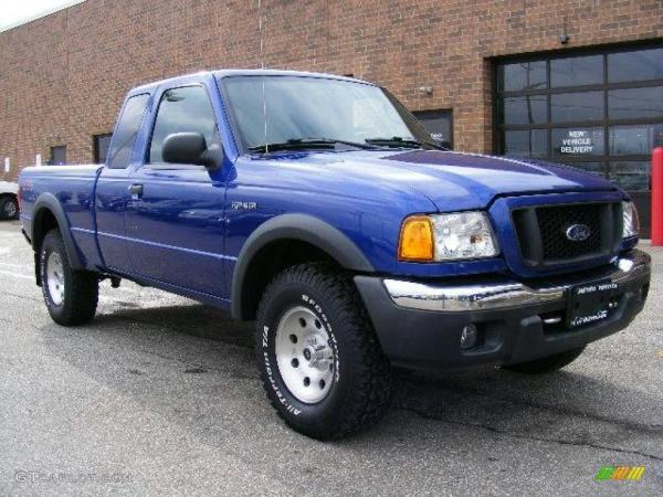 TRS Magazine     Ford       Ranger    FX4 OffRoad and Level II  By The Years