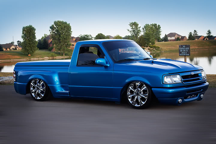 Rims And Tires For Trucks >> Salvatore Bruno's 1994 'Sit N Low' Ford Ranger Splash