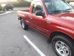 1999 Mazda-newly painted donor door from 1995 Ford Ranger.jpg
