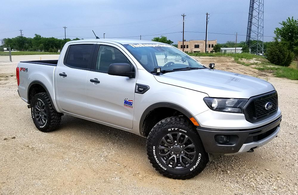 Largest Tire You Can Put On A 2019 Ford Ranger Without A Lift