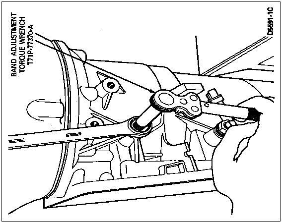 4r44e Band Adjustment