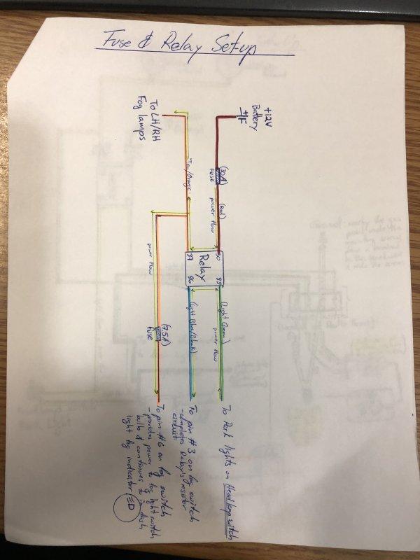 Ford Ranger Fog Light Switch Wiring Diagram