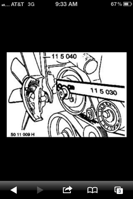 5 0 Fan Clutch Removal Tips? - The Ranger Station Forums