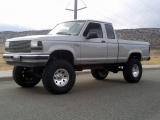 1990 Ranger xlt , Silver Lifted 33's