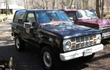 Early Bronco EB grille in Bronco II