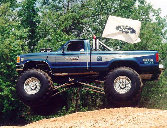 Bigfoot_Rangeron 1987 Ford Bronco Ii