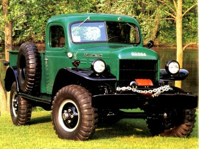 1949 Dodge Power Wagon 4x4 for Sale