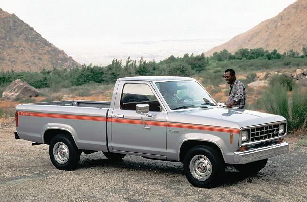 1983 Ford Ranger All New Pickup Truck STD XL XLT XLS Dealer Sales Brochure