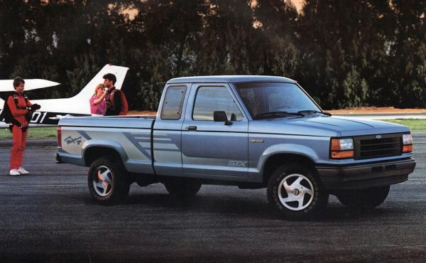 history of the ford ranger. Black Bedroom Furniture Sets. Home Design Ideas