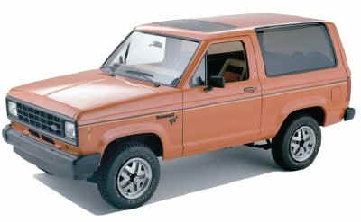 Ford Bronco II History