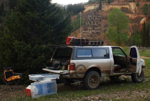 Ranger truck camper