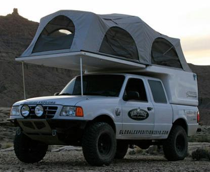 ford ranger flippac camper. Black Bedroom Furniture Sets. Home Design Ideas