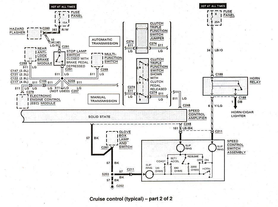Diagram_Cruisecontrol_2of2 adding cruise control ranger forums the ultimate ford ranger cruise control wiring diagram at reclaimingppi.co