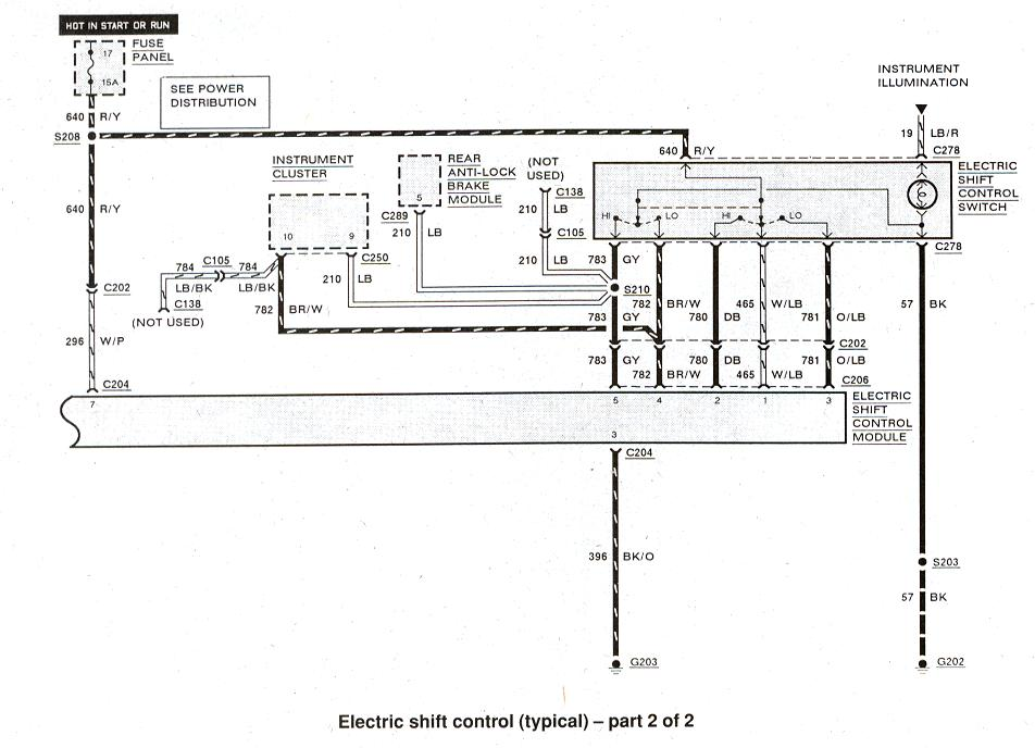 Diagram_ElectronicShiftControl2 ford ranger wiring by color 1983 1991