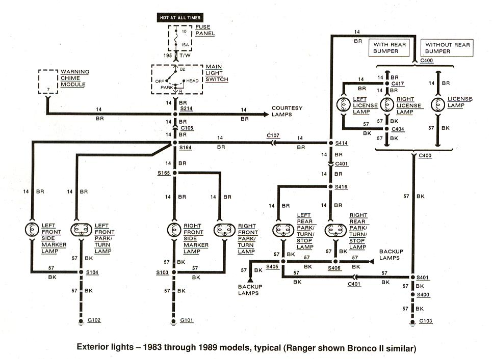 Diagram_Exteriorlights_1983to1989 ford ranger wiring by color 1983 1991  at et-consult.org