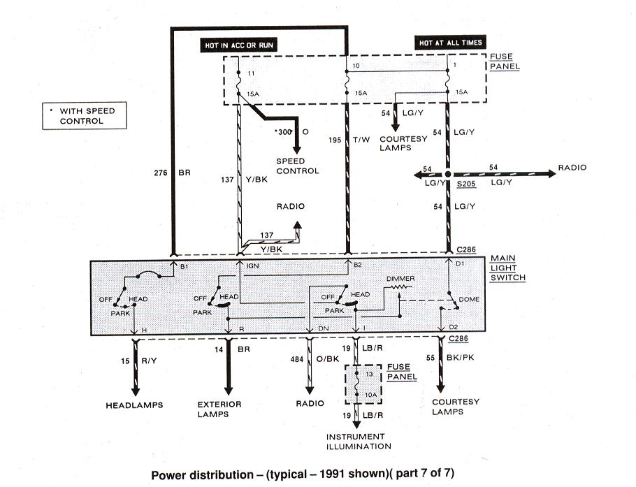 ford ranger  u0026 bronco ii electrical diagrams at the ranger