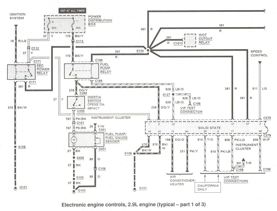Diagrams_ElectronciEngControls2_9_1of3 fuse box 83 ford bronco ford wiring diagrams for diy car repairs 1999 ford ranger ignition wiring diagram at webbmarketing.co
