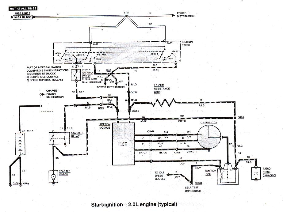 ford ranger bronco ii electrical diagrams at the ranger station rh therangerstation com