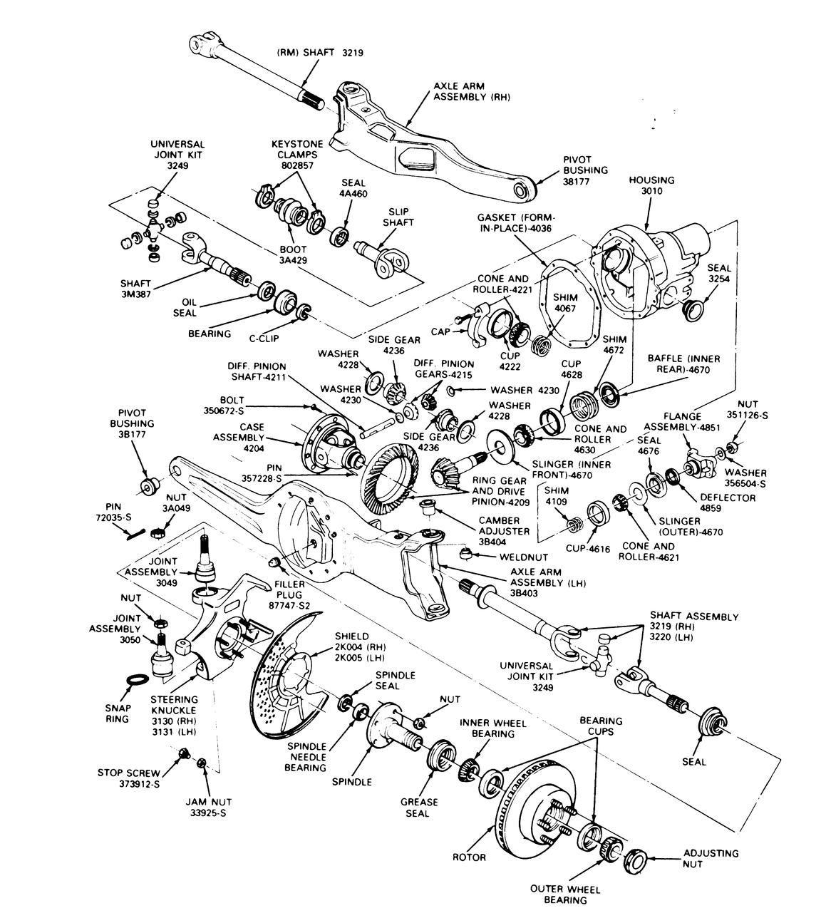 the ford dana 44 ttb axle