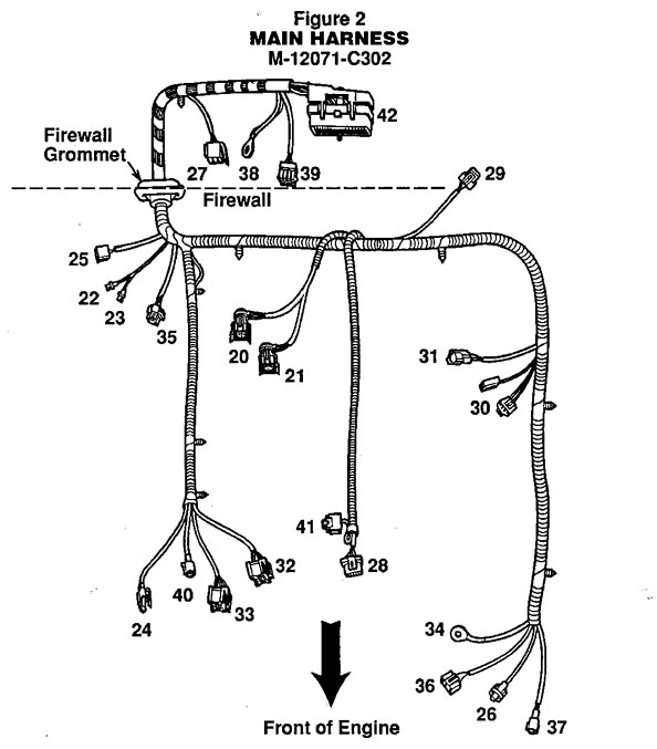 ford efi conversion wiring harness  ford  auto wiring diagram