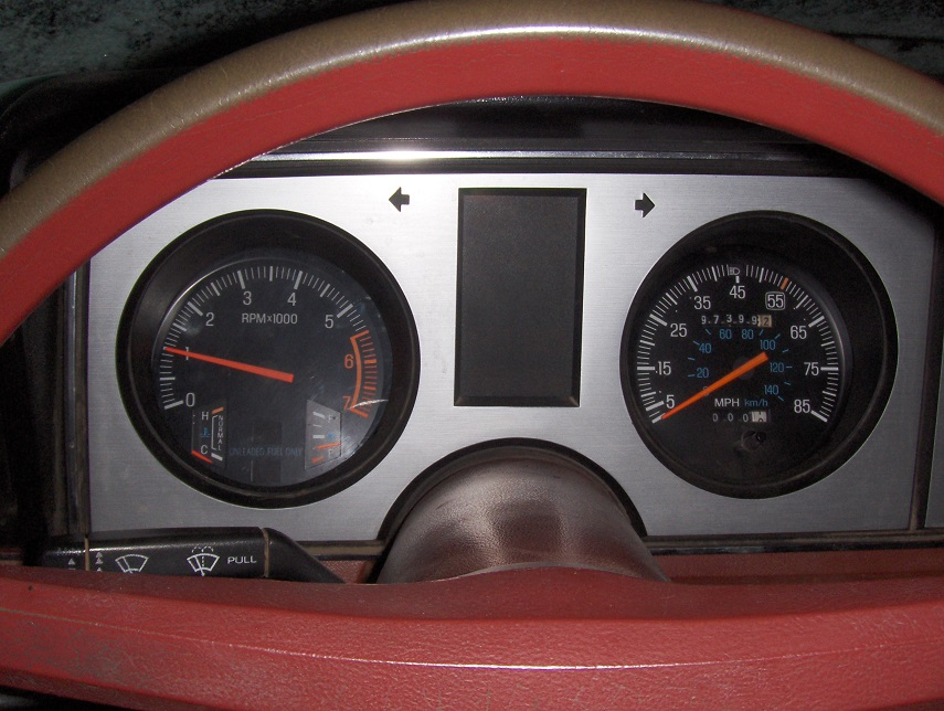1983-1986 Gauge Cluster With Tach Swap : The Ranger Station