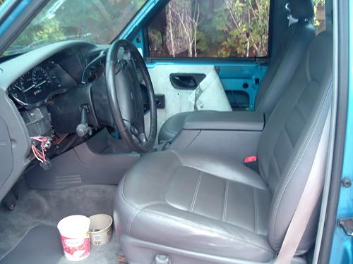using seats from other fords in your ranger. Black Bedroom Furniture Sets. Home Design Ideas