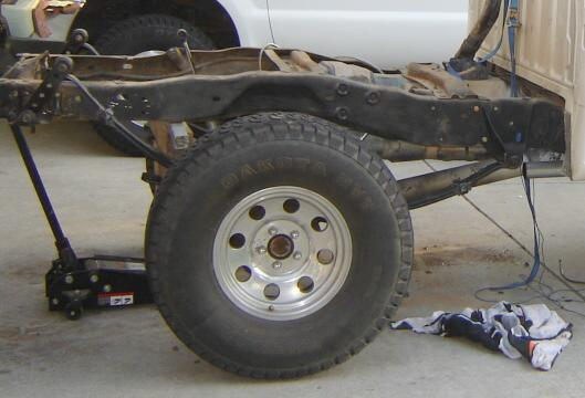 The Chevy 64 Inch Leaf Spring Amp Shackle Flip On A Ford Ranger