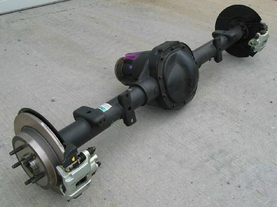 The Ford Explorer 8 8-Inch Axle Swap