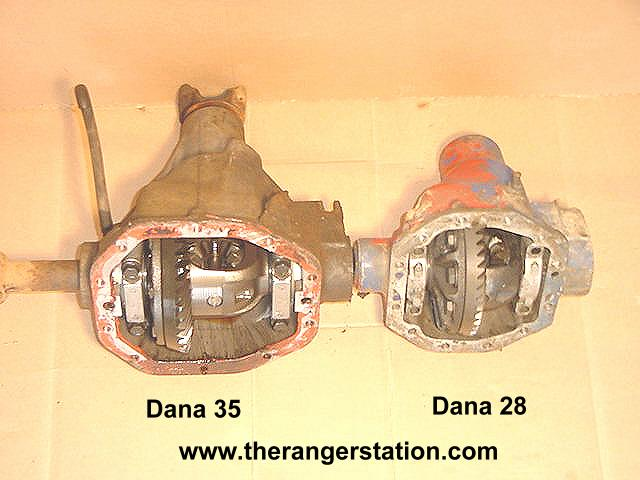 The Ford Ranger Dana 28 & Dana 35 Front 4x4 Axle