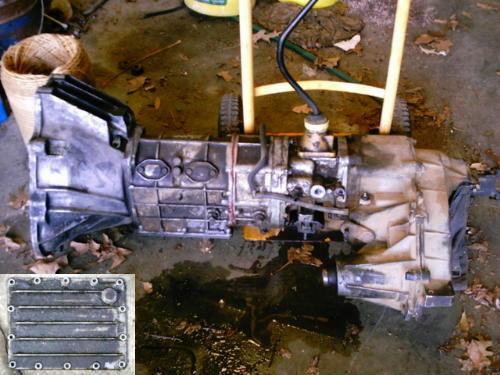 93 ford ranger manual transmission fluid type