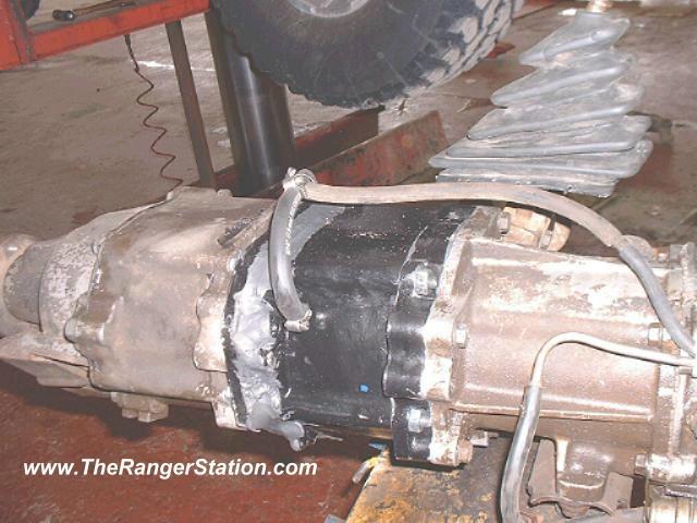 Ford Ranger Custom Dual Transfer Case