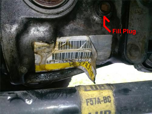Ford Ranger Front / Rear Axle Fluid Check & Change