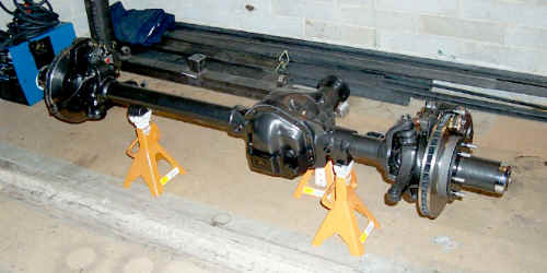 The Dana 44 Front Axle