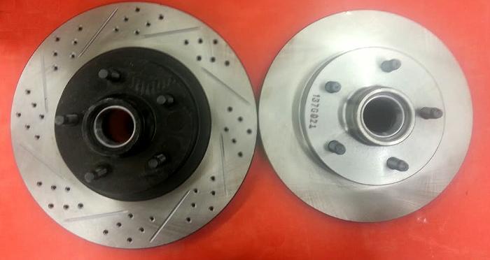 Front Posi Metallic Brake Pads /& Rotors Kit for Ford Ranger Mazda 2WD w// ABS